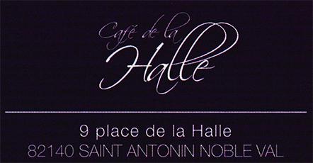 Logo Café la halle
